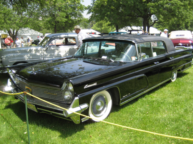 1950s era Lincoln Continental