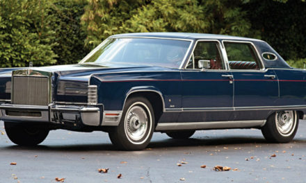 The Beautiful Monster That Was The 1977 Lincoln Continental