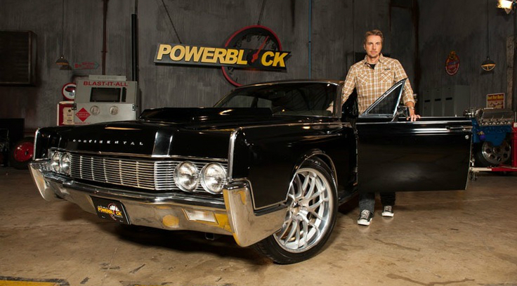 Dax Shepard Has One Very Cool Custom Classic Lincoln